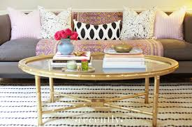 Pink Coffee Table Gold Coffee Table Design Ideas