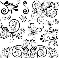 floral vector ornaments free vector 14 494 free vector