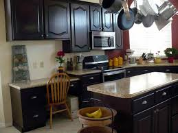 Painted Black Kitchen Cabinets Old Painting Cabinets Home Ideas Old Painted Black Kitchen