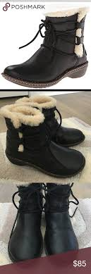 ugg s rianne boots ugg rianne boots wellington boot black leather and