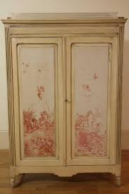 Wardrobes Furniture An Antique Country Pine Two Door Painted Armoire The Painted