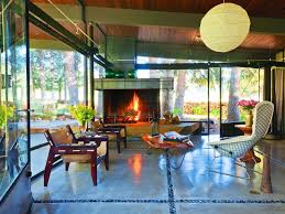 mid century modern home interiors a rustic architect takes liberties with his midcentury modern home