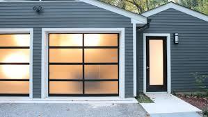 Precision Overhead Door by Garage Frosted Glass Garage Doors Home Garage Ideas
