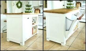 kitchen island trash bin kitchen island with garbage bin kitchen trash can storage cabinet