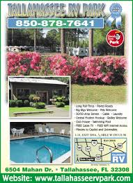 tallahassee florida rv parks tallahassee campgrounds rv