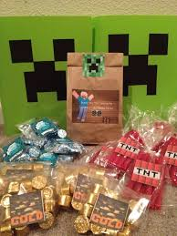 minecraft party favors minecraft party ideas search s minecraft party