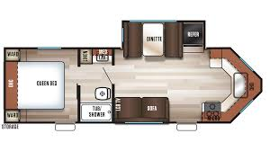 100 cyclone toy hauler floor plans 2018 forest river salem