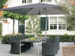 Rectangle Patio Umbrella Rectangular Outdoor Umbrella Stands Furniture