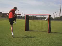 5x7 striker trainer soccer goal rebounder by goalrilla