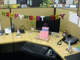 Office Desk Decoration Birthday Office Decorations Home Design Ideas And Pictures