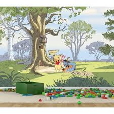 pro art winnie the pooh hundred acre wood full wall mural pro art winnie the pooh hundred acre wood full wall mural