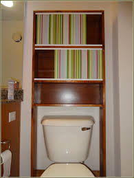 stylish and functional ikea over toilet storage design idea and
