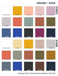 Color Forecast by Lenzing Color Trends Autumn Winter 2013 14 Color Usage Kids