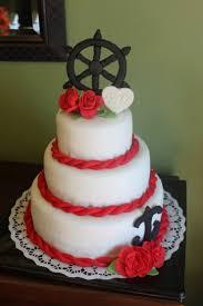 wedding cake gum nautical black and white wedding cake gum paste captains wheel