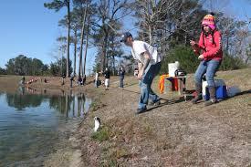 Camp Lejeune Map Gone Fishin U0027 Service Members Families Reel In Fun Excitement At