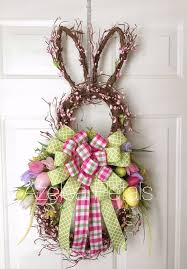 easter bunny wreath 20 easter bunny décor ideas that are shelterness