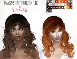 sims 4 hair cc s4models the sims 4 cc