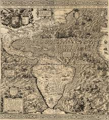 colonial america map maps of early colonial america