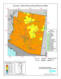 Map Of Northern Arizona by Solar Clean Energy Research And Education Northern Arizona
