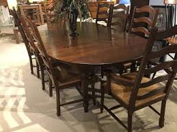 54 inch round dining table amish oak and cherry dining room 54 inch round dining table