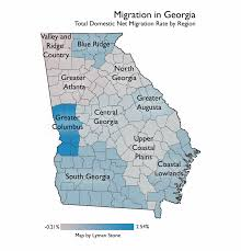 Augusta Ga Map Mapping Migration In Georgia U2013 In A State Of Migration U2013 Medium