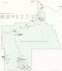 Colorado National Parks Map by Map Of Mesa Verde National Park
