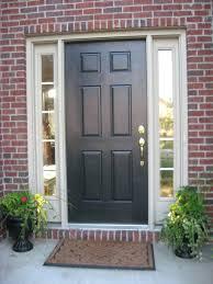 Black Exterior Gloss Paint - front doors splendid black front door for modern home home door