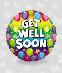 get well soon balloons delivery well balloon