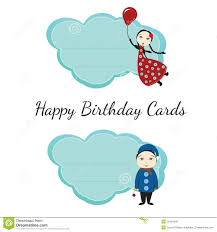 happy birthday cards for kids royalty free stock photos image
