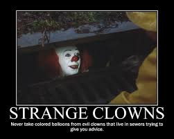 Evil Clown Memes - funny clown memes google search pennywise the clown