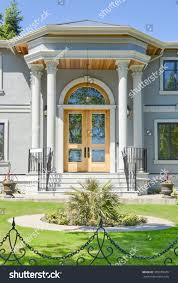 grand entrance brand new beautiful family stock photo 355978349