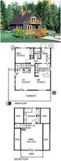 cabin house plans wood small cottage floor plan with loft top best