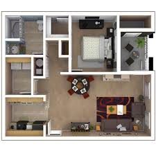 bedroom expansive 1 bedroom apartments floor plan slate table