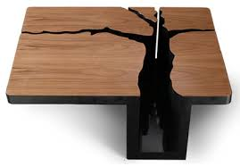 Table Designs Simply Elegant Extruded Tree Coffee Table Design