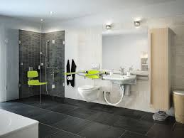 Bathroom With Wheelchair Cool And Calming Wheelchair Accessible - Handicapped bathroom designs