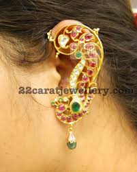 kaan earrings kaan earrings by kothari jewelry jewellery designs