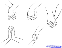 how to draw anime hands holding hands by benulis on deviantart