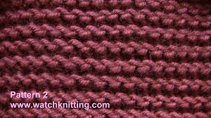 simple knitting patterns crochet and knit