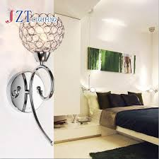 Modern Wall Lights For Bedroom - aliexpress com buy z modern crystal hardware wall lamp bedroom