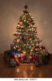 christmas tree with lights christmas tree lights stock photos christmas tree lights stock
