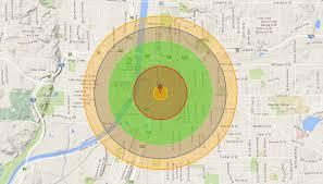 Nuclear Bomb Map Here U0027s What The U0027little Boy U0027 Atomic Bomb Dropped On Hiroshima
