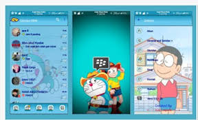 bbm tema doraemon apk download blackberry messenger bbm mod doraemon v3 0 1 25