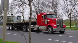 w900b kenworth trucks for sale kenworth w900b great dane flatbed trailer toronto truck