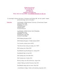 make up classes in pa bobbinicolebentzel updated cosmetology resume