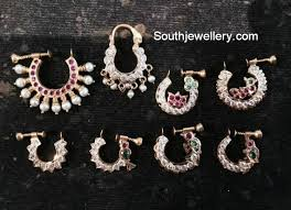 nose rings com images Gold nose rings jewellery designs jpg