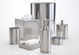 Nickel Finish Bathroom Accessories by Silvio Brushed Nickel Labrazel Luxury Bath Accessories