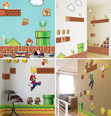 Super Mario Bedroom Decor Anything Super Mario Bros
