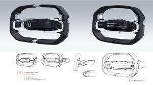 renault trezor interior renault trezor concept design sketch render by laurent negroni