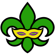 mardi gras joker gras 5k run 2018