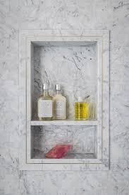 Niche Bathroom Shower Bathtub Ideas Remarkable Metal Gray Marble Tile Shower Niche